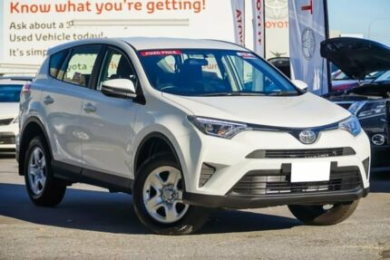 2016 Toyota RAV4 ZSA42R GX 2WD Glacier White 7 Speed Constant Variable Wagon Osborne Park Stirling Area Preview
