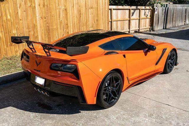 2019 Orange Chevrolet Corvette ZR1  | C7 Corvette Photo 9