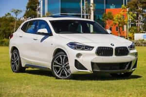 2019 BMW X2 F39 sDrive20i Coupe DCT M Sport White 7 Speed Sports Automatic Dual Clutch Wagon