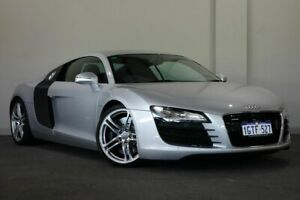 2008 Audi R8 Quattro Silver 6 Speed Sports Automatic Single Clutch Coupe Bayswater Bayswater Area Preview