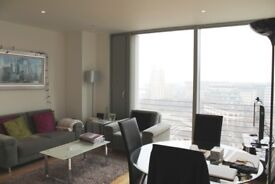 Modern 1 BEDROOM •28TH FLOOR •GYM •24 HOUR CONCIERGE •LUXURY Flat Walking to Canary Wharf E14