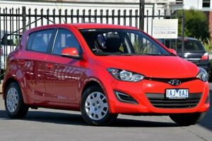 2013 Hyundai i20 Red Automatic Hatchback Vermont Whitehorse Area Preview