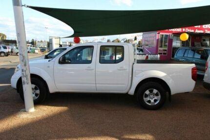 2009 Nissan Navara D40 RX (4x4) White 6 Speed Manual Dual Cab Pick-up Minchinbury Blacktown Area Preview