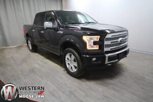 2017 Ford F-150 Platinum   Leather   Twin Panel Moonroof   Tech