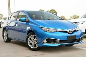 2018 Toyota Corolla ZRE182R Ascent Sport S-CVT Blue Gem 7 Speed Constant Variable Hatchback