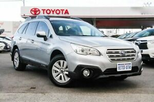 2015 Subaru Outback MY14 2.0D Silver Continuous Variable Wagon