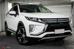 2018 Mitsubishi Eclipse Cross YA MY18 LS 2WD White 8 Speed Constant Variable Wagon Ryde Ryde Area Preview