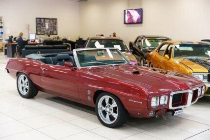 1969 Pontiac Firebird Burgundy Automatic Convertible