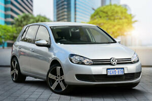 2012 Volkswagen Golf VI MY12.5 118TSI DSG Comfortline Silver 7 Speed Sports Automatic Dual Clutch Bayswater Bayswater Area Preview