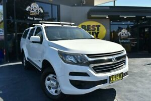 2017 Holden Colorado RG MY17 LS Pickup Crew Cab White 6 Speed Sports Automatic Utility Campbelltown Campbelltown Area Preview