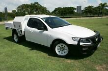 2010 Ford Falcon FG R6 Super Cab White 6 Speed Sports Automatic Cab Chassis Townsville 4810 Townsville City Preview