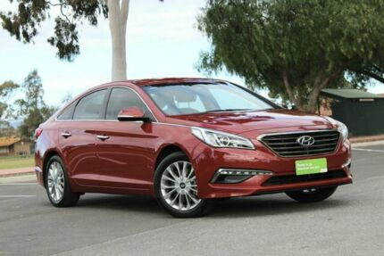 2016 Hyundai Sonata LF MY16 Elite Red 6 Speed Sports Automatic Sedan Nailsworth Prospect Area Preview