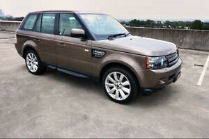 2012 Land Rover Range Rover Sport L320 12MY SDV6 CommandShift Luxury Bronze 6 Speed Sports Automatic Haymarket Inner Sydney Preview