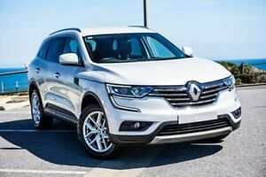2017 Renault Koleos HZG Zen X-tronic White 1 Speed Constant Variable Wagon Christies Beach Morphett Vale Area Preview