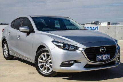 2017 Mazda 3 BN5278 Neo SKYACTIV-Drive Silver 6 Speed Sports Automatic Sedan Osborne Park Stirling Area Preview