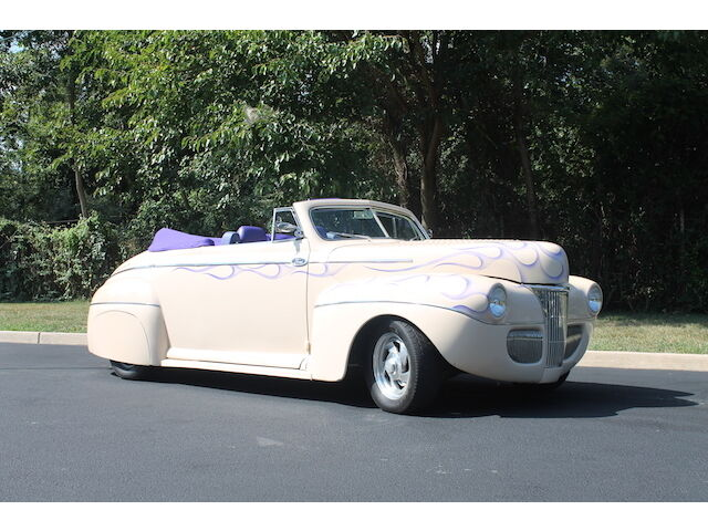 Ford : Other Super Deluxe 1941 ford super deluxe convertible resto mod 350 v 8 auto power options