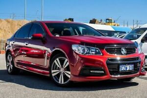 2014 Holden Commodore VF MY15 SV6 Red 6 Speed Sports Automatic Sedan Osborne Park Stirling Area Preview