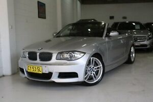 2008 BMW 135i E88 135i Silver 6 Speed Manual Convertible Castle Hill The Hills District Preview