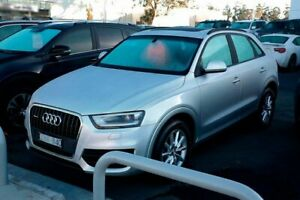 2013 Audi Q3 8U MY13 TFSI S Tronic Quattro Silver 7 Speed Sports Automatic Dual Clutch Wagon Mill Park Whittlesea Area Preview