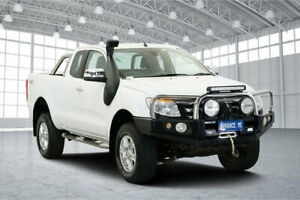 2013 Ford Ranger PX XLT Double Cab White 6 Speed Sports Automatic Utility Victoria Park Victoria Park Area Preview