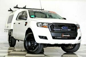2016 Ford Ranger PX MkII XL 3.2 (4x4) White 6 Speed Automatic Crew Cab Chassis Burleigh Heads Gold Coast South Preview
