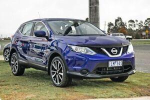 2017 Nissan Qashqai J11 Series 2 ST X-tronic Blue 1 Speed Constant Variable Wagon Wendouree Ballarat City Preview