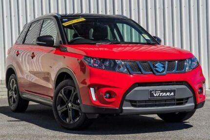 2017 Suzuki Vitara LY S Turbo (2WD) Red 6 Speed Automatic Wagon