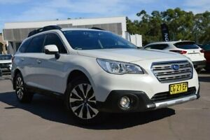 2016 Subaru Outback B6A MY16 2.5i CVT AWD White 6 Speed Constant Variable Wagon McGraths Hill Hawkesbury Area Preview