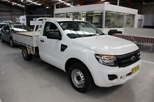 2013 Ford Ranger PX XL 4x2 White 6 Speed Manual Cab Chassis Maryville Newcastle Area Preview