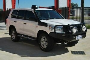 2016 Toyota Landcruiser VDJ200R GX White 6 Speed Sports Automatic Wagon Kenwick Gosnells Area Preview