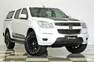 2015 Holden Colorado RG MY15 LS (4x4) White 6 Speed Automatic Crew Cab Pickup Burleigh Heads Gold Coast South Preview