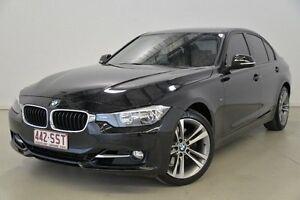 2012 BMW 328I F30 MY0812 Black 8 Speed Sports Automatic Sedan Mansfield Brisbane South East Preview