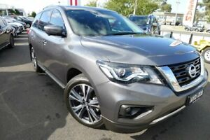 2018 Nissan Pathfinder R52 Series III MY19 Ti X-tronic 4WD Grey 1 Speed Constant Variable Wagon