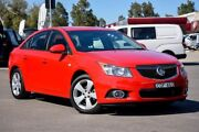 2013 Holden Cruze JH Series II MY14 Equipe Red 6 Speed Sports Automatic Sedan Penrith Penrith Area Preview