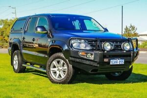 2015 Volkswagen Amarok 2H MY15 TDI420 4Motion Perm Highline Blue 8 Speed Automatic Utility Wangara Wanneroo Area Preview