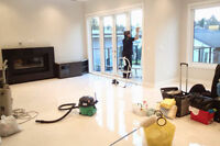 POST CONSTRUCTION/RENOVATION CLEANING!!