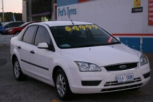 2005 Ford Focus LS LX White 4 Speed Automatic Sedan Fyshwick South Canberra Preview