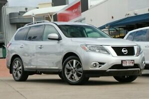 2013 Nissan Pathfinder R52 MY14 Ti X-tronic 2WD Brilliant Silver 1 Speed Constant Variable Wagon
