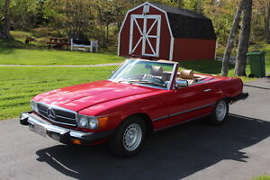 1983  Mercedes- Benz  380SL