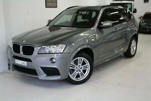 2013 BMW X3 F25 MY1112 xDrive20d Steptronic Grey 8 Speed Automatic Wagon Castle Hill The Hills District Preview