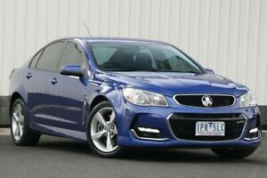 2016 Holden Commodore VF II MY16 SS V Blue 6 Speed Sports Automatic Sedan Oakleigh Monash Area Preview