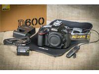 Nikon D 600 ff digital camera