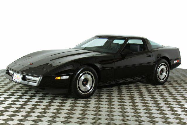 1984 Black Chevrolet Corvette   | C4 Corvette Photo 2