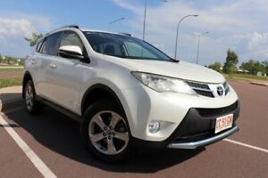 2014 Toyota RAV4 ZSA42R MY14 GXL 2WD Crystal Pearl 7 Speed Automatic Wagon Driver Palmerston Area Preview