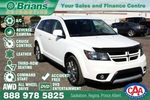2016 Dodge Journey R/T Rallye w/AWD, 3rd Row, DVD, Leather, Load