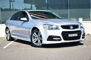 2015 Holden Commodore VF MY15 SV6 Silver 6 Speed Sports Automatic Sedan Cardiff Lake Macquarie Area Preview