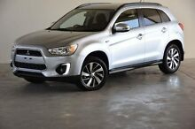 2014 Mitsubishi ASX XB MY14 2WD Silver 6 Speed Constant Variable Wagon Robina Gold Coast South Preview