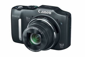 Canon PowerShot SX160 IS 16.0 MP Digital Camera 16x wide angle