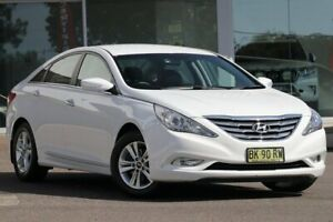 2011 Hyundai i45 YF MY11 Active White 6 Speed Automatic Sedan Wyong Wyong Area Preview
