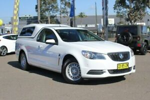 2015 Holden Ute VF MY15 Ute White 6 Speed Sports Automatic Utility Condell Park Bankstown Area Preview